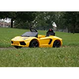 Smartwheels. Battery Operated 6 V Ride On Toy Car For Kids Lamborghini Remote Control. Ride N Ecar