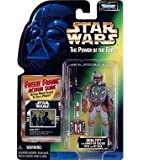 Star Wars The Power Of The Force Bobaa Fett With Sawed- Off Blaster Rifle And Jet Pack FREEZE FRAME ACTION SLIDE...