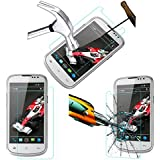 Acm Tempered Glass Screenguard For Xolo Q600 Mobile Screen Guard Scratch Protector