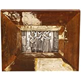 Thar Handicrafts Bangalore Wooden Photo Frame With School Girls Photo And Distressed Finish
