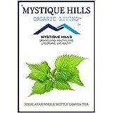 MYSTIQUE HILLS - Organic Shade Dried Whole Himalayan Nettle Leaf Tea (PREMIUM QUALITY) (100 GR)