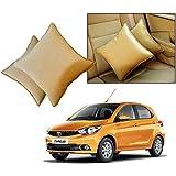 Car Vastra Cushion Pillow Set Beige Color For Car & Home For - Tata Tiago
