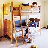 Kid's Oak Bunk Beds