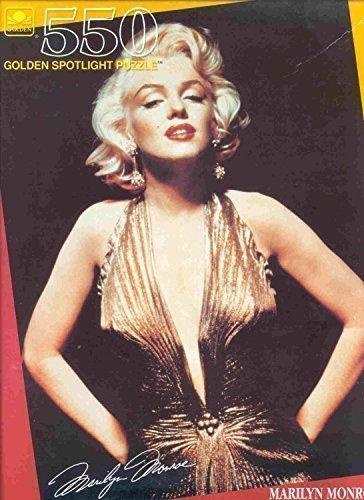 Marilyn Monroe Golden Spotlight Jigsaw Puzzle (550 Piece)