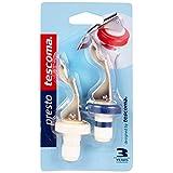 Tescoma Presto Bottle Stopper/Bottle Opener, 2-Pieces, White