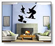 Snowboarding Winter Sports Wall Mural