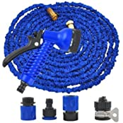 100% Real Latex Cloth Garden Hose With Spray Nozzle Garden Hose Water Filters