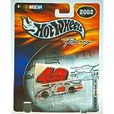 2002 Mattel / Hot Wheels Racing Nascar Sterling Marlin #40 Sticker Series Dodge Intrepid (Coors Light) 1:64 Scale...