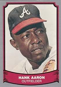 Amazon.com: 1988 Pacific Legends #1 Hank Aaron Baseball