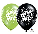 "11"" Over the Hill Assorted Latex Balloons - Package of 12"