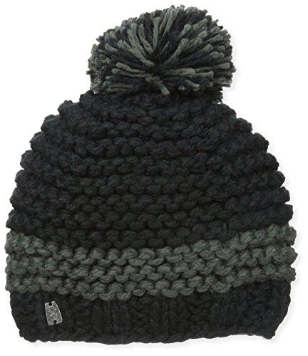 Spyder Men's Bug Band Hat, Black/Volcano, One Size