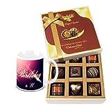 Charming Surprises Of Delightful Chocolates With Birthday Mug - Chocholik Luxury Chocolates