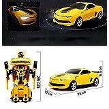 Remote Control Car,Smart Q [Car To Robot Transformation] [Transforming Car Robot] Remote Control Car Robot Toy...
