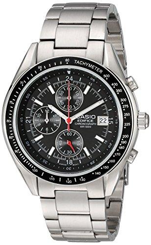 """Casio Men's EF503D-1AV """"Edifice"""" Stainless Steel Watch"""