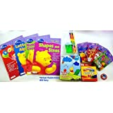 I Can Learn With Pooh Bundle Bonanza Gift Pack Activity Set-a-POOH-looza ! Boxed Up ! ~Layered In Lo