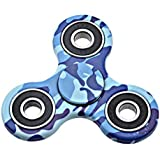 Fidget Spinner Focus Toy For Killing Time Stress Reducer Hand Spinners For Adults And Kids Blue