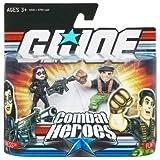 GI Joe Combat Heroes 2-Pack Baroness and Flint