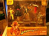 Disney Indiana Jones Collectible Figures 6 Pc Pvc Figurine Set