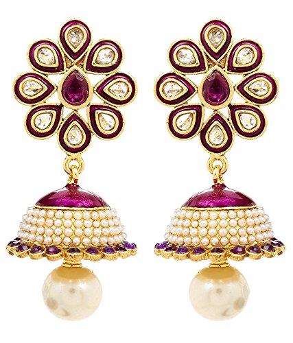 Akshim Multicolour Alloy Earrings For Women - B00NPY9ATK