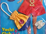 Barbie Yacht Club Fashions w Captain's Hat and Bag! - Easy To Dress (1994)
