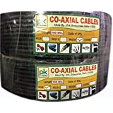 PK RG-59 CO-Axial Cable (100 Meter) Pack Of 3