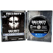 Sony Playstation 4 PS4 Call Of Duty GHOSTS Steelbook Video Game & DLC Bundle COD Season PassSony Playstation 4 PS4 Call Of Duty GHOSTS Steelbook Video Game & DLC Bundle COD Season Pass Activision