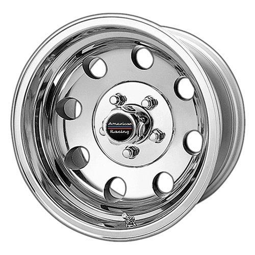 American Racing Custom Wheels AR172 Baja Polished Wheel (15×7″/5×114.3mm, -6mm offset)