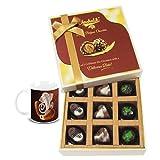 Chocholik Belgium Chocolates - Amazing Colorful Surprise Of Assorted Chocolates With Ganesha Idol - Diwali Gifts