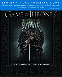 Game of Thrones: The Complete First Season (Blu-ray/DVD Combo + Digital Copy)