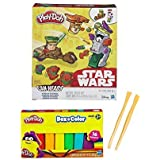 Play Doh Star Wars Mission On Endor Featuring Luke Skywalker, Stormtrooper & Ewok Can Heads & Play Doh Box O Color...