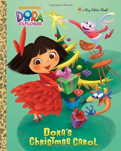 USED GD Doras Christmas Carol Dora The Explorer Big Golden Book By