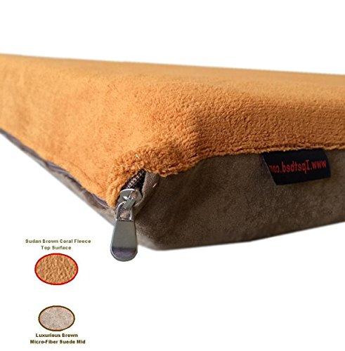 Replacement Sudan Brown Coral Fleece Micro Plush Brown