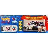 1998 Mattel Hot Wheels Racing 1999 / 10 Years Of Racing Diamond Collectors Series Mark Martin / Roush Racing #6...