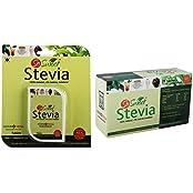 So Sweet Stevia Combo Of 500 Stevia Tablets And Stevia 50 Sachets 100% Natural Sweetener - Sugarfree