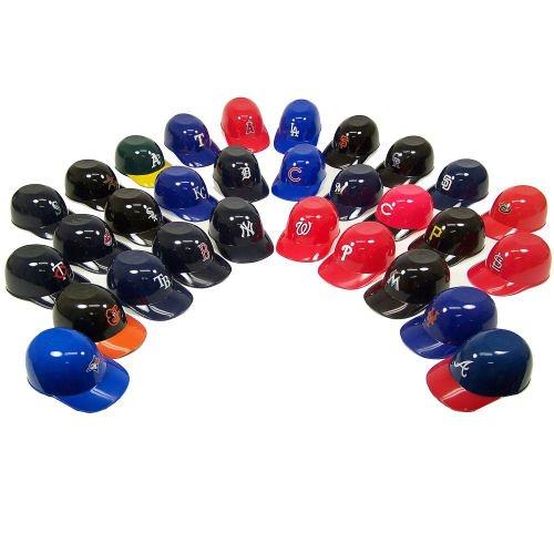 All 30 Mlb Team Logo Official Mlb 8oz Mini Baseball Helmet