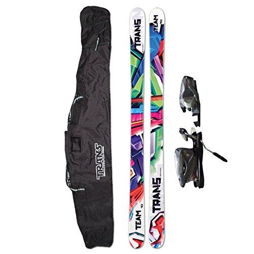 TRANS Ski Team men 163cm white + Rossignol Axium + GRATIS Bag