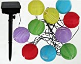 WAYCOM® Solar Powered LED Lantern String Light/Christmas Lights/ Decorated Light for Party, Outdoor, Patio Lawn, Garden-10LED