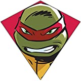 "Nickelodeon Teenage Mutant Ninja Turtles 23""-Wide Nylon Diamond Kite--""Raphael"""