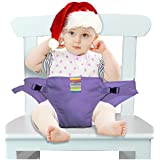 The Washable Portable Travel High Chair Booster Baby Seat With Straps Toddler Safety Harness Baby Feeding The...