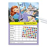 Sofia First Princess Re-usable Reward Chart (including FREE Star Stickers and Pen)