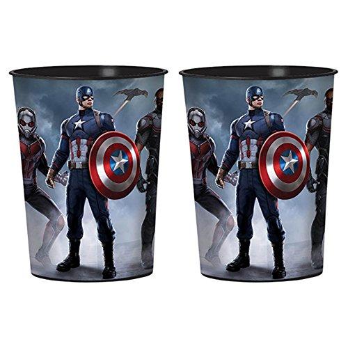 Captain America 'Civil War' Reusable Keepsake Cups (2ct)