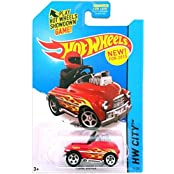 Hot Wheels, 2015 Hw City, Pedal Driver [Red] Die Cast Vehicle #74/250
