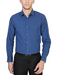 Peter England Slim Fit Shirt _PSF61501501_36_Blue