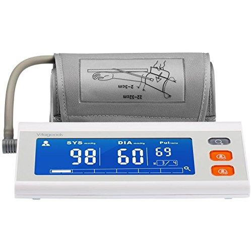 Vitagoods VGP-4050-G Talking Blood Pressure Monitor, Plastic