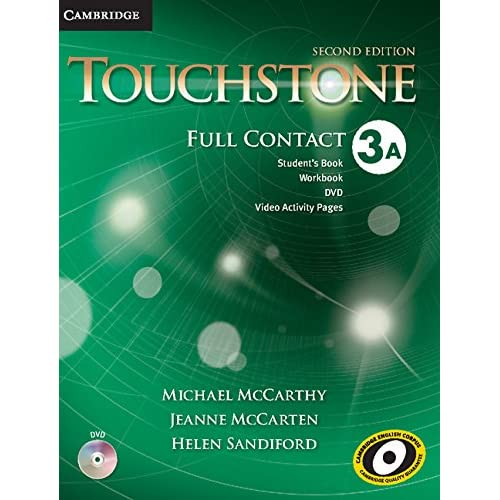 Touchstone Level 3 Full Contact A (1 Paperback, 1 DVD video) Michael McCarthy ,