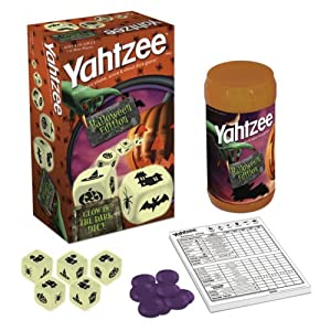 Halloween Yahtzee is another solid choice of Halloween games