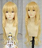 Amagi Brilliant Park Anime Latifah Fururanza Cosplay Wig Blonde Hair