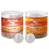 Chocholik Dry Fruits - Almonds Smoked Barbeque & Tandoori Masala With 5gm X 2 Pure Silver Coins - Diwali Gifts...