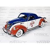 "1937 Lincoln Zephyr Coupe ""Pepsi Cola"" 1:18th Scale Autoworld Die-cast"