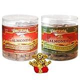Chocholik Dry Fruits - Almonds Smoked Barbeque And Smoked Jalapeni With Small Ganesha Idol - Diwali Gifts - 2...